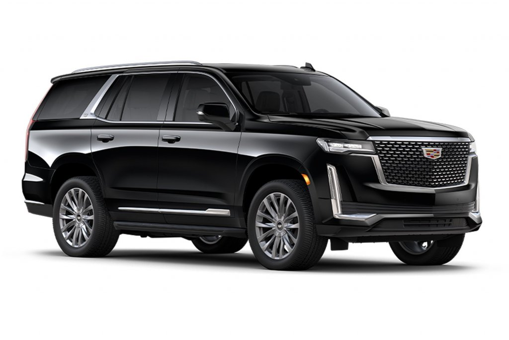 Skyline Chicago Limo Cars Luxury Fleet Black Cadillac Escalade Exterior October 2020